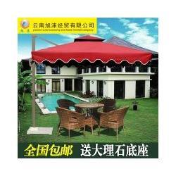 侧立香蕉伞 户外伞 庭院伞 户外遮阳伞 沙滩伞大伞厂家直销图片