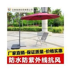 双层铝伞休闲伞沙滩伞广告伞厂家销售图片