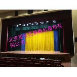 纯棉舞台幕布厂家图片