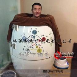 五行陶瓷养生缸 负离子汗蒸缸 巴马活瓷能量熏翁图片