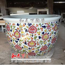 厂家直销陶瓷大缸 陶瓷鱼缸泡澡缸风水缸私人定制图片