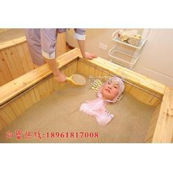 沙浴养生代理了解沙疗过程沙灸基础健康知识图片