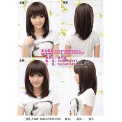 地板蜡假发怎么带、假发怎么带、假发店(多图)图片