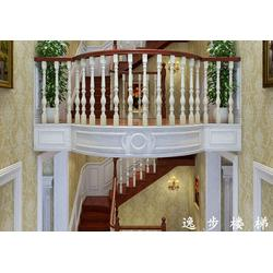 铁艺 栏杆花盘-武汉铁艺栏杆-逸步楼梯(查看)图片