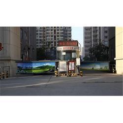 临潭县智能道闸,元鸿智能车牌识别,停车场系统智能道闸图片