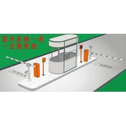 元鸿智能停车场系统(图),车牌识别系统图,盘山车牌识别系统图片