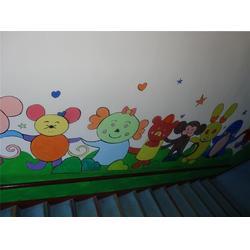 小型幼儿园制作,威海幼儿园彩绘,岳艺彩绘图片