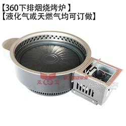 360燃气下排烟烧烤炉 全烧烤炉图片