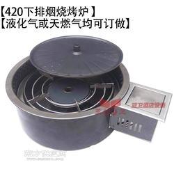 420下排烟燃气烧烤炉 全烧烤炉图片