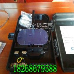 厂家热卖PC合金16芯光纤分线箱 黑色16芯光纤分线盒图片