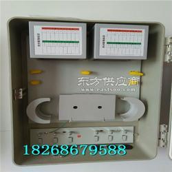 FTTH三网通用型64芯光纤分纤箱 挂杆式1分64芯光分路器箱厂家图片