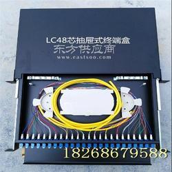 SC48芯抽屉式光纤终端盒、48芯光纤配线架厂家图片
