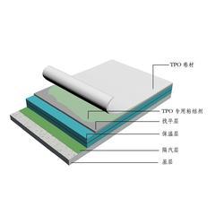 無錫建裕建筑-TPO滿粘單層屋面系統怎么樣圖片