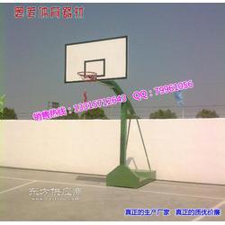 海燕式篮球架手动液压篮球架规格普通篮球架厂家图片