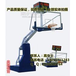 地埋式圆管篮球架篮球板生产厂家图片