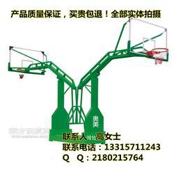 地埋式圆管篮球架健身器材专业生产出厂真正实惠图片