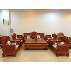 非洲花梨木沙发|众人从红木|非洲花梨木沙发厂家图片