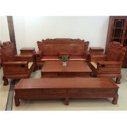 非洲花梨木六合同春沙发、众人从红木款式丰富(在线咨询)、沙发图片