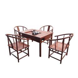非洲花梨木茶台定制、非洲花梨木茶台、众人从红木 (查看)图片