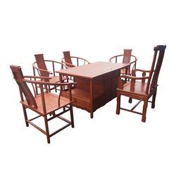 茶台-非洲花梨木富贵茶台-众人从红木款式丰富(优质商家)图片