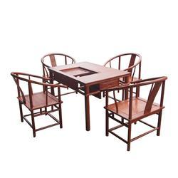 非洲花梨木茶台、众人从红木信誉可靠、非洲花梨木茶台图片