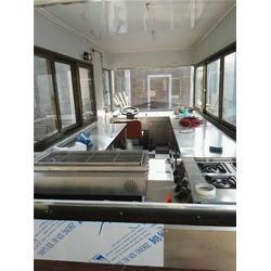 迅蓝餐车,芜湖小吃车,流动小吃车生意怎么样图片