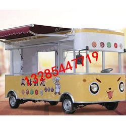 南开区奶茶车 多功能奶茶车 迅蓝餐车图片