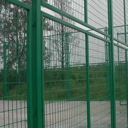 铁路防护栅栏 富邦网栏 铁路防护栅栏定制图片