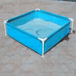 工地蓄水池 耐高温涂塑布 涂层布蓄水池加工无味涂层布_蓄水鱼池定制_帆布蓄水池加工图片