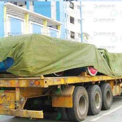 货车盖货篷布耐老化涂层布防雨篷布加工图片
