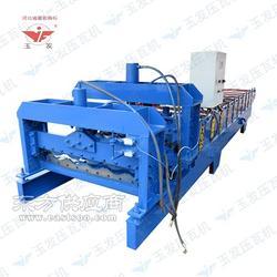 高压冷弯设备仿古828琉璃瓦机械成型设备出售铁皮压瓦机图片