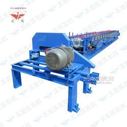 液压马达CZ型钢互换一体高速成型无极剪切冷弯压瓦机图片
