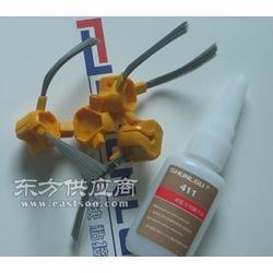 硅胶粘软PVC胶水,环保小面积硅胶粘塑料瞬间接着剂图片