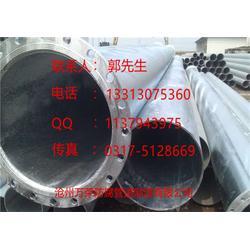锅炉蒸汽专用热镀锌防腐钢管,万荣防腐钢管图片