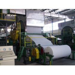 宁夏造纸机-少林烧纸造纸机械-无烘缸造纸机图片