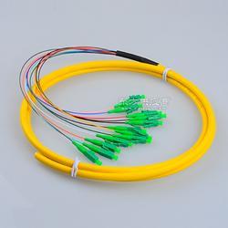 12芯尾纤SC/APC电信级12芯束状尾纤SC/APC光纤单模电信级12芯图片