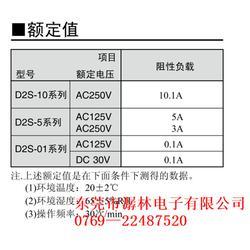微动开关D2S东莞潺林_潺林电子_微动开关D2S图片