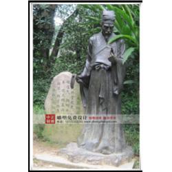 铸铜古代名医雕塑-古代名医雕塑-中正铜雕图片
