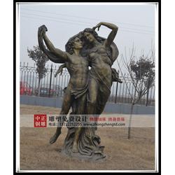 铸铜西方人物雕塑|中正铜雕(在线咨询)|西方人物雕塑图片