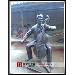 大型步行街雕塑-中正铜雕-步行街雕塑图片