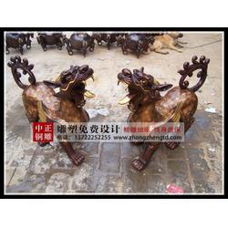 铜麒麟厂家直销-中正铜雕(在线咨询)铜麒麟图片