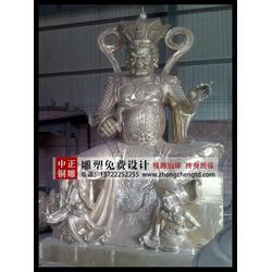 中正铜雕 四大天王铜像-四大天王图片