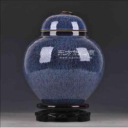 颜色釉陶瓷罐子定制厂家图片