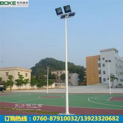 室内篮球场灯杆8米锥形篮球场灯杆供应商配400W亚明灯具图片