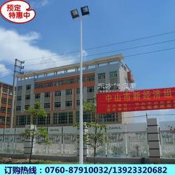 专业生产篮球场的灯杆 6米、7米、8米锥形篮球场的灯杆厂家直销图片