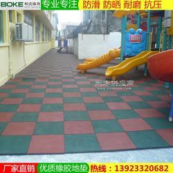 幼兒園色彩豐富地板規格 體育場無毒橡膠軟墊定制 廠家直銷圖片