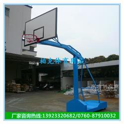 供应篮球架 学校移动篮球架 户外埋地式篮球场图片