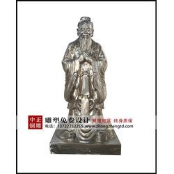 中正铜雕(查看)、贵州铸造3米孔子铜像需要多少钱图片