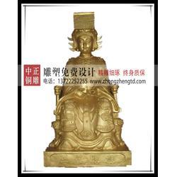 王母娘娘铜像,王母娘娘铜像加工,黄铜王母娘娘铜像图片