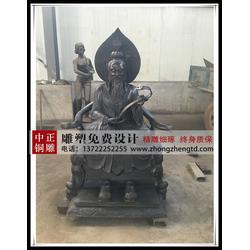 道教铜神像、太上老君铜像、供应太上老君铜像图片